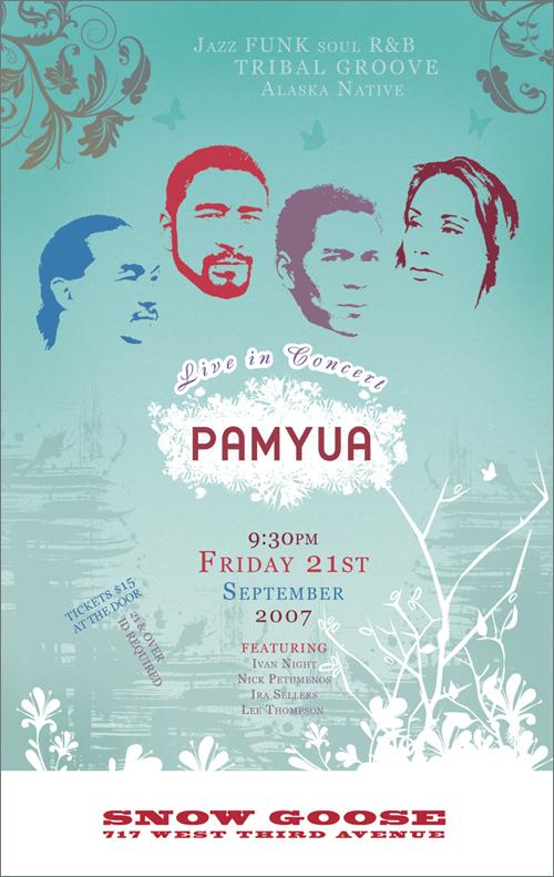 Pamyua concert poster